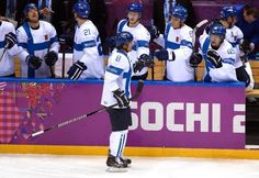 END OF THE SECOND PERIOD (Bronze medal game) #Olympics  Finland (2) - USA (0)…