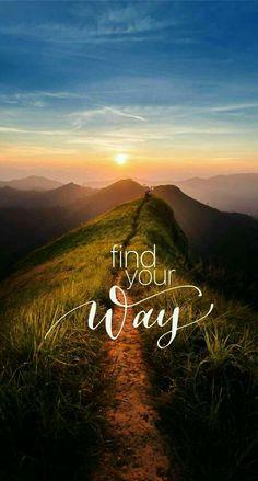 Encuentra tu camino