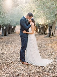 California Olive Grove Engagement Session captured by Meghan Mehan - via Magnolia Rouge (Photo Lab: Photovision)