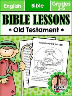 Bible Lessons for 3rd-5th Grade - Old Testament 5.99