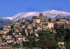Seaside town of Cagnes sur Mer, Provence, France.