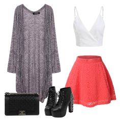 """"""""""" by abbeyelizabeth5 ❤ liked on Polyvore featuring LE3NO and Chanel"""