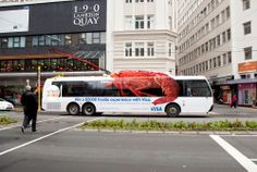 Outdoor advertising :  The best advertising ideas on the bus