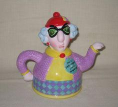 Maxine teapot - Tea with Maxine would be fun, even tho she prefers coffee (RM)