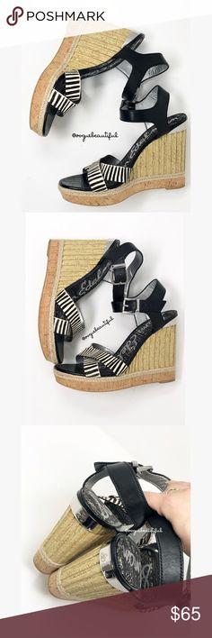 26ceff5a6 Sam Edelman Clay Wedge Sandals Sam Edelman Clay Wedge Sandals