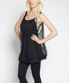 Another great find on #zulily! Black Embellished Angada Layered Tunic http://www.zulily.com/?SSAID=930758&tid=acceleration_930758 #zulilyfinds