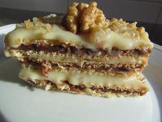 Adoro esse pave e sempre faço em datas doces como o Dia das Mães, a placa de wafer é essa: http:// www.saborbarion.com.br/ produt...