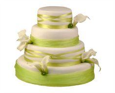 Svatební dort 37 Čtyřpatrový svatební dort, o rozměrech 18 cm, 24 cm, 32 cm a 40 cm, obalen fondánem, dozdoben živými květy a saténovými stuhami Cake, Food, Pie Cake, Pie, Cakes, Essen, Yemek, Meals, Cookie