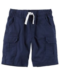Toddler Boy Pull On Cargo Shorts From Carters Shop Clothing Amp
