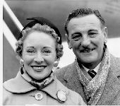 A 1956 picture of tenor Webster Booth and his wife and singing partner Anne Ziegler, prior to them leaving for South Africa. Booth died today aged 82 in North Wales.  20th June 1984 / Mono Print