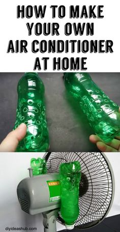 How To Make Your Own Air Conditioner At Home