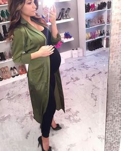 "pregnancy outfits casual 304978206016430052 - ""Give me your hand."" He ordered and i looked at him confused. Cute Maternity Outfits, Stylish Maternity, Maternity Wear, Maternity Dresses, Maternity Fashion, Pregnant Outfits, Pretty Pregnant, Baby Bump Style, Pregnancy Looks"