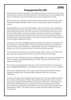 First Fleet: Transported for Life Reading Comprehension // Australian Curriculum… History Mysteries, Mystery Of History, History Activities, Teaching History, Australia Facts, Primary History, First Fleet, Kids Homework, Elementary Library
