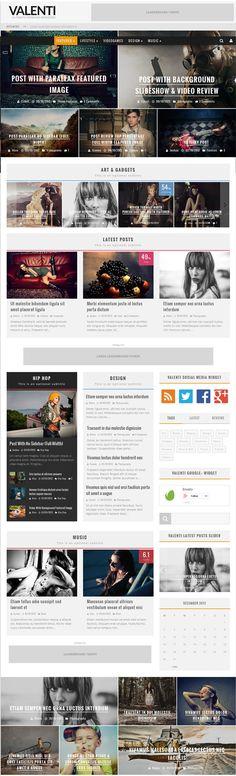 Valenti Theme Review - News Magazine HD WordPress Theme