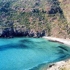 A beach near Aegiali, Amorgos Island, Greece The Safarer | Travel Reporter