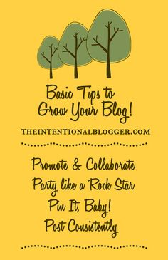 Let's Grow Your Blog! with theintentionalblogger.com #infographic #content #marketing #contentmarketingtips #marketing #socialmedia #blogging #blog #blogtips #bloggingtips #writing #writingtips