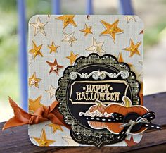 Happy Halloween Card by Leslie Ashe