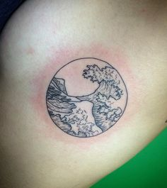 Wave Tattoo - Adriftis Surf Co.