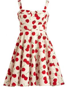 Retro Pinup Cherry Dress