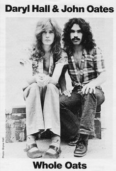 Recently inducted in the Rock and Roll Hall of Fame. Daryl Hall  John Oates; the shoes and hair are priceless!