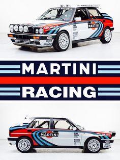 Lancia Delta INTERGALE Groupe A Rallye Grand PVC Show Banner Work Shop Garage