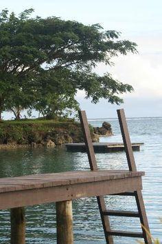 Koro Sun Resort: View from the Lagoon