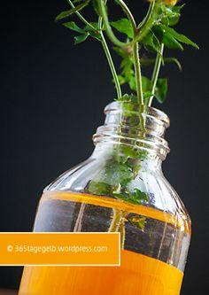 DIY, Upcycling, gelb, vase // 365tagegelb.wordpress.com