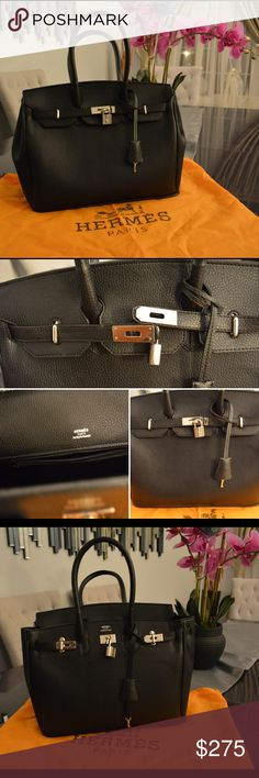 Hermes Birkin purse 👛 this great looking purse is only one, the newest 👍🏼 new WOT 😍 all leather, A+ quality don't ask obvious, lock 🔐 works😎 comes with dust bag💼 no trades🚫perfect christmas gift for yourself 😍😍😍🎉🎉🎁🎁 Hermes Bags Hobos