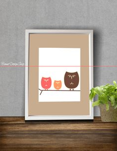 Art Print Home Decor Children Nursery Baby by BannerDesignShop, $14.99