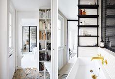 parigi-ristrutturazione-appartamento-zona-studio-pavimento-mosaico-bagno-stile-pop