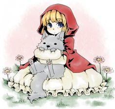 Ishiyama Keiko, Red Riding Hood, Grimms Manga, Big Bad Wolf, Red Riding Hood (Character), Circle