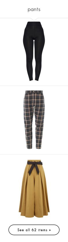 """pants"" by telepathic-hearts ❤ liked on Polyvore featuring pants, leggings, bottoms, highwaist pants, high rise pants, high-waisted leggings, high-waist trousers, high-rise leggings, trousers and jeans"