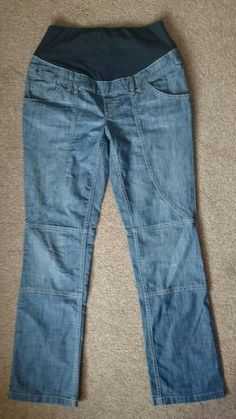 3a51d1021f71b Blue Skinny ripped Maternity Jeans H&M Mama. Size EU 42 good length for  tall. **Bump band is ripped from wear and tear(comfiest jeans=worn so much!