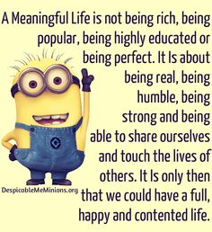 minion picture quotes | Minion Quotes – A Meaningful Life