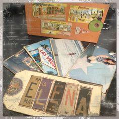 Mini Album bolsillos y Tag
