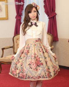 Innocent World - Anniversary Rose Skirt