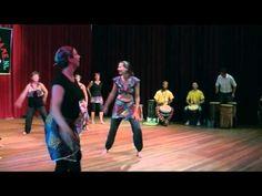 W-Afrikaanse dans choreo olv Turid Dramé 2012 - YouTube