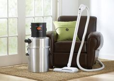 CentraLux central vacuum cleaners by Aerus, The Healthy Home Experts and Original Vacuum Cleaner manufacturer of Electrolux Vacuums from 1924-2003.