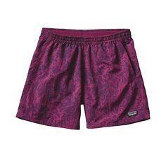 Patagonia Women's Baggies Shorts- Canopy Cover Violet Red from Shop Southern Roots TX Lazy Outfits, Summer Outfits, Fashion Outfits, Patagonia Outfit, Patagonia Baggies, Patagonia Outdoor, Manga Clothes, Athletic Outfits, Athletic Clothes