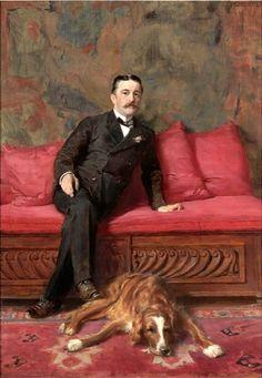 A Man And His Dog, Ignaz M. Gaugengigl