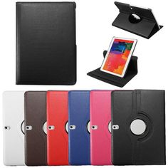 360 Rotating Stand PU Leather Case Cover for Samsung Galaxy Tab Pro 10.1 T520
