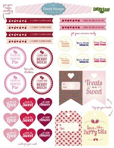 The High Heeled Hostess valentines Printables