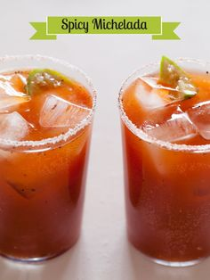 Spicy Michelada  Ingredients: 2 teaspoons honey, spread into a thin layer on a plate 1/4 cup kosher salt 1/2 teaspoon smoked paprika 1/8 teaspoon cayenne pepper (optional) 2 limes, juiced (plus extra lime wedges to garnish) 2 cups light Mexican beer 2 1/2 teaspoons Worcestershire sauce 2 teaspoons hot sauce (preferably a more vinegar based hot sauce such as Tabasco) 1 teaspoon low sodium soy sauce 1/2 jalapeno, seeded and diced (optional) freshly cracked black pepper
