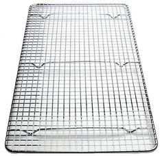 Crosswire Grid Cooling Rack Wire Pan Grate Baking Rack Icing Rack Chrome -- Find out more about the great product at the image link.