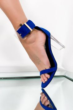 The Leysa Sandal by Cape Robbin in Blue