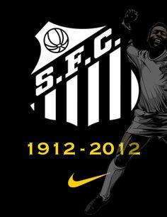Santos Futebol Clube - 1912 - 2012 - Forever