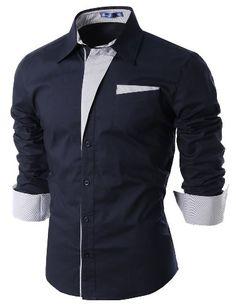 Herren Casual Pin Stripe Patched Pocket Slim Hemden NAVY L(DS41) Doublju http://www.amazon.de/dp/B00862DEH0/ref=cm_sw_r_pi_dp_v58vub1TWD79B