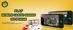 Do you own a #iPhone7? Play #mobile #casino games, slots, scratch card games at Monster Casino on your iPhone7 flawlessly. Read to know more https://www.monstercasino.co.uk/blog/iphone-casino-game-changer/