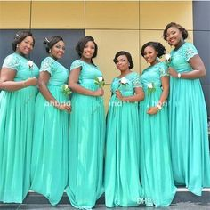 Cheap Bridesmaid Dresses 2017 African Sexy Tuquiose Lace Chiffon Maid Of Honor Gowns Formal Wedding Guest Dress A Line Short Sleeve Dark Red Bridesmaid Dresses, Mint Green Bridesmaid Dresses, Bridesmaid Dresses Online, Turquoise Bridesmaids, Casual Bridesmaid, Wedding Bridesmaids, Wedding Guest Gowns, Formal Wedding, Wedding Ideas