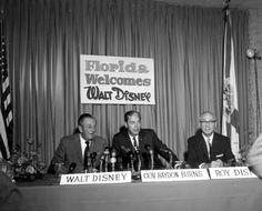 Walt Disney's 1965 'Walt Disney World' Announcement Press Conference